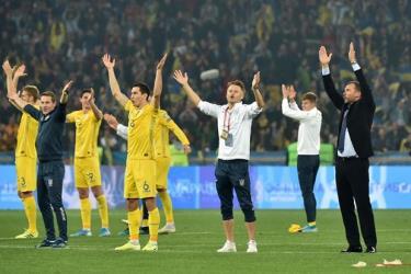 Ukraine lần thứ 2 trong lịch sử có vinh dự góp mặt ở một vòng chung kết Euro.