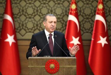 Tổng thống Thổ Nhĩ Kỳ Tayyip Erdogan.