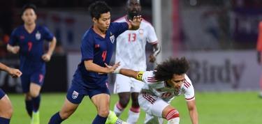 Đánh bại UAE, Thái Lan dẫn đầu bảng G Vòng loại World Cup 2022.