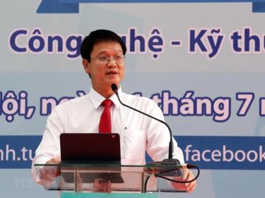 Thứ trưởng Bộ Giáo dục và Đào tạo Lê Hải An.