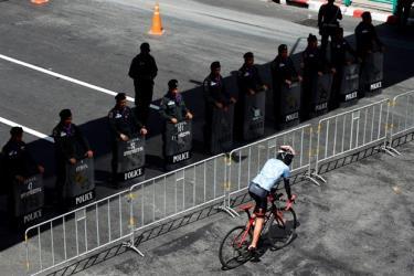 Lực lượng cảnh sát quốc gia Thái Lan.