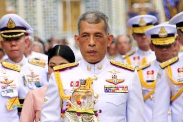 Nhà vua Thái Lan Maha Vajiralongkorn.