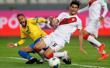 Peru thi đấu rất quyết liệt