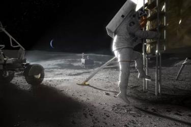 Thám hiểm Mặt Trăng.