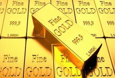 Giá vàng bất ngờ bật tăng. ảnh minh hoạ