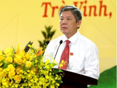 Ông Ngô Chí Cường đắc cử Bí thư Tỉnh uỷ Trà Vinh khoá XI
