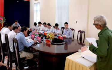 Đã có 9 lượt công dân trình bày ý kiến với Chủ tịch UBND tỉnh.
