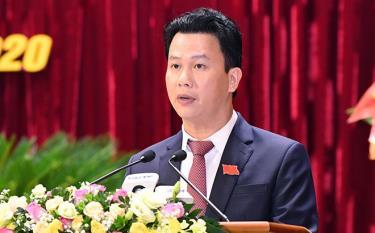 Bí thư Tỉnh uỷ Hà Giang Đặng Quốc Khánh