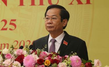 Ông Đỗ Thanh Bình được bầu giữ chức Bí thư Tỉnh uỷ Kiên Giang khoá XI giai đoạn 2020 - 2025