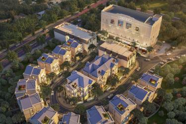 18 căn biệt thự Sapphire Villas được thiết kế theo lối kiến trúc tân cổ điển Pháp