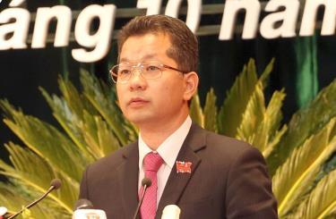 Tân Bí thư Thành ủy Đà Nẵng Nguyễn Văn Quảng.