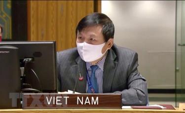 Đại sứ Đặng Đình Quý, Trưởng Phái đoàn Việt Nam tại Liên hợp quốc.