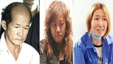 Các đối tượng có hành vi chống phá Nhà nước. Từ trái qua phải: Lê Văn Hải (Bình Định), Phạm Thị Đoan Trang (Hà Nội), Trần Thị Tuyết Diệu (Phú Yên)