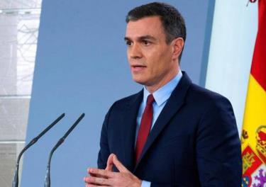 Thủ tướng Tây Ban Nha Pedro Sanchez.
