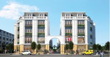 Nhà phố thương mại (Shophouse) đang phát triển mạnh tại Việt Nam.