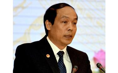 Ông Vũ Xuân Hợi - Bí thư Đảng ủy, Giám đốc Sở Khoa học và Công nghệ tỉnh Yên Bái.
