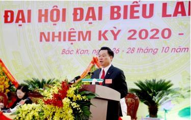 Ông Hoàng Duy Chinh được tín nhiệm bầu giữ chức Bí thư Tỉnh uỷ khoá XII, nhiệm kỳ 2020-2025.