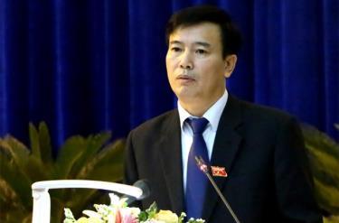 Ông Hồ Đức Hợp - Giám đốc Sở Tài nguyên và Môi trường tỉnh Yên Bái.