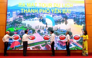 Ra mắt tour du lịch thành phố Yên Bái