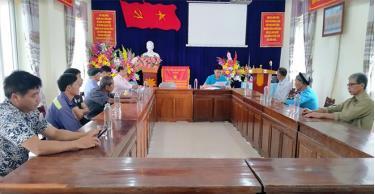 Đảng ủy xã An Phú thường xuyên quán triệt nâng cao hiệu quả thực hiện Chỉ thị 05 trong đời sống thực tế ở cơ sở.