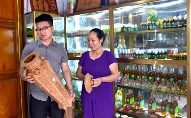 Sản phẩm thủ công mỹ nghệ quế Văn Yên được chứng nhận là sản phẩm OCOP.