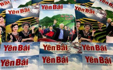 Báo Yên Bái hôm nay đã không ngừng đổi mới, lớn mạnh với 3 sản phẩm báo chí: Báo in phát hành 5 ngày/tuần, báo vùng cao song ngữ xuất bản 2 kỳ/tháng và báo Yên Bái điện tử cập nhật 24/7.