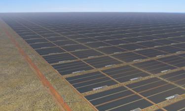 Sun Cable sẽ xây trang trại điện mặt trời rộng 12.000 ha ở Australia. Ảnh: Sun Cable.