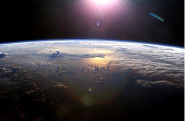 Trái Đất nhìn từ không gian - Ảnh: NASA