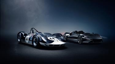 Hình ảnh hai siêu xe tốc độc cách nhau 60 năm (hình ảnh: cars.mclaren.com).