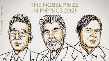Giải Nobel Vật lý được trao cho ba nhà khoa học Syukuro Manabe, Klaus Hasselmann và Giorgio Parisi.