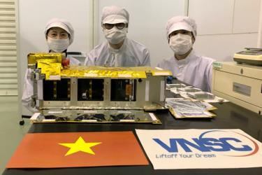 Vệ tinh NanoDragon của Việt Nam chính thức bàn giao cho Nhật Bản ngày 17/8/2021