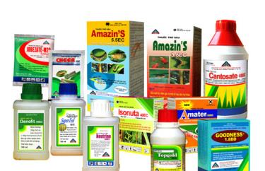 Thuốc bảo vệ thực vật được sử dụng phổ biến hiện nay