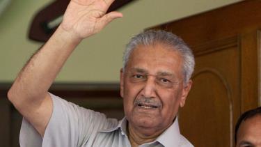 Nhà khoa học hạt nhân Abdul Qadeer Khan.