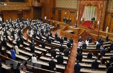 Toàn cảnh một phiên họp Quốc hội Nhật Bản ở Tokyo.