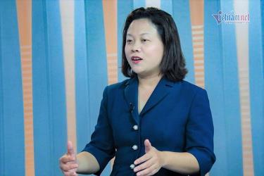 PGS.TS Chu Cẩm Thơ (Viện Khoa học Giáo dục Việt Nam)