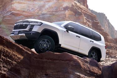 Toyota Land Cruiser 2022. Ảnh: CarBuzz.