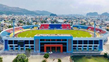Sân vận động Cẩm Phả.