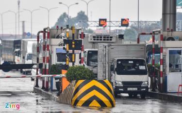 Lực lượng chức năng sẽ không kiểm soát người và phương tiện tại các cửa ngõ Hà Nội. Ảnh: H.Q.