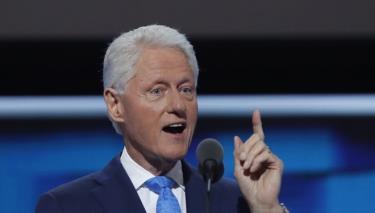 Cựu Tổng thống Mỹ Bill Clinton (Ảnh: Reuters).