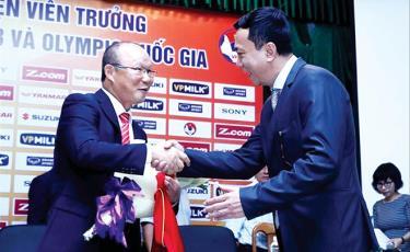 VFF cho biết HLV Park Hang - Seo là lựa chọn thích hợp với bóng đá Việt Nam Ảnh: Anh Đoàn