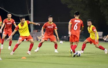 U23 Việt Nam nỗ lực tập luyện chuẩn bị cho vòng loại U23 châu Á 2022.