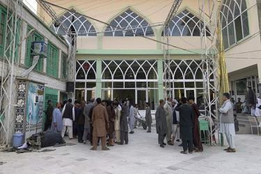 IS nhận trách nhiệm vụ tấn công nhà thờ Hồi giáo ở Afghanistan hôm 15.10.