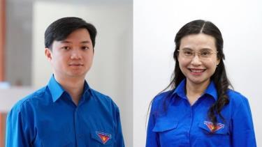 Ông Nguyễn Minh Triết và bà Nguyễn Phạm Duy Trang.