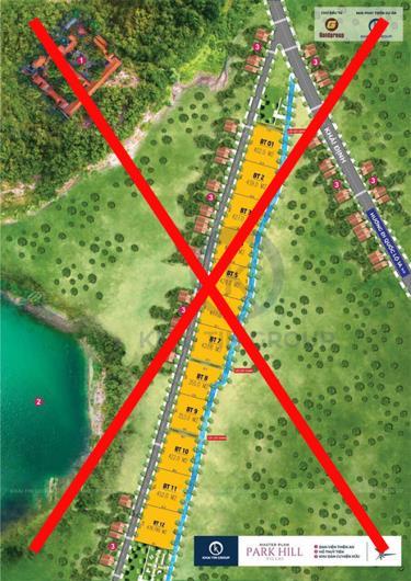 Dự dự án Eco Lake đã bán 71 lô đất cho khách hàng, nhưng chính quyền, ngành chức năng kiểm tra, phát hiện không có dự án nào mang tên Eco Lake.