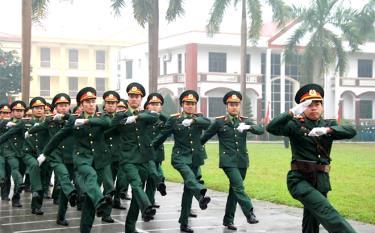 Xây dựng lực lượng tinh nhuệ, chính quy, từng bước hiện đại là mục tiêu quan trọng trong công tác quân sự - quốc phòng của tỉnh.
