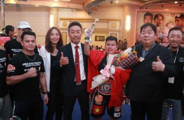 Nguyễn Thị Thu Nhi từng giành đai WBO châu Á - Thái Bình Dương vào đầu năm 2020.
