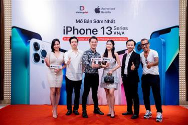 Nhiều chuỗi bán lẻ đồng loạt mở bán iPhone 13 chính hãng. (Ảnh minh họa)