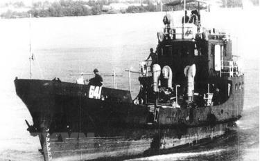 Tàu HQ-671 (còn được biết đến với phiên hiệu C41) là con tàu Không số duy nhất còn lại trong số những con tàu làm nên Đường Hồ Chí Minh trên biển, đã được Thủ tướng Chính phủ công nhận là bảo vật quốc gia. Trong kháng chiến chống Mỹ mang số hiệu 641. (Ảnh: Tư liệu/TTXVN phát)