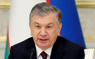 Tổng thống Uzbekistan đương nhiệm Shavkat Mirziyoyev.