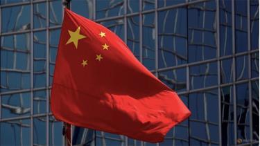 Quốc kỳ Trung Quốc tại Bắc Kinh.